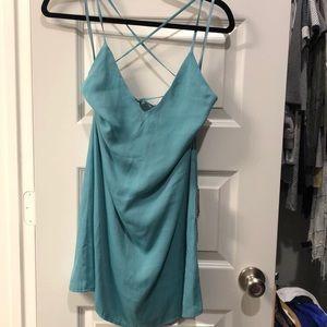 NWT Lulu's turquoise sundress